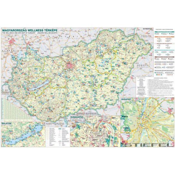 Magyarország wellness falitérkép