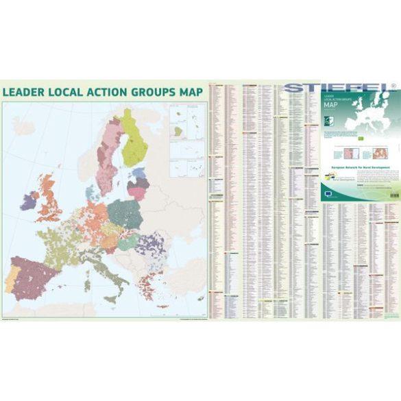 Európai Unió vidékfejlesztési falitérkép