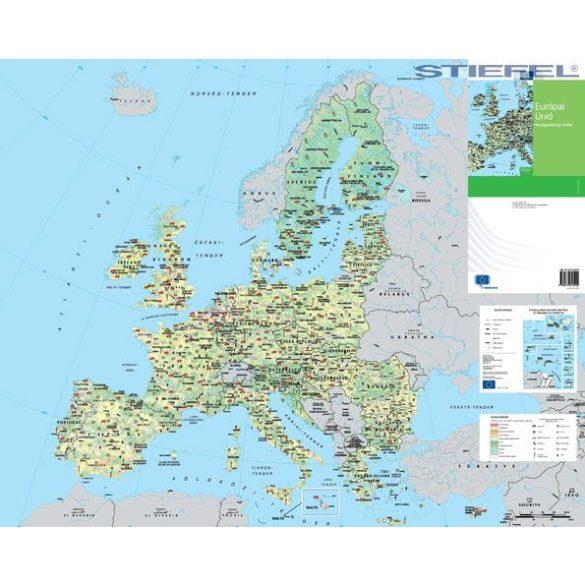Európai Unió mezőgazdasági térképe, falitérkép
