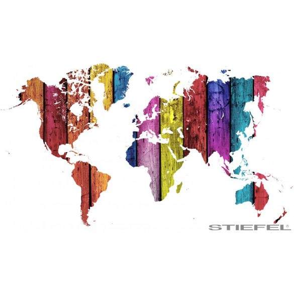 Színes fali világtérképe, falitérkép