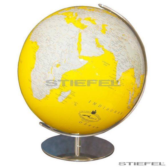 Artline yellow földgömb Ø 34  cm
