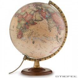 Földgömb antik, fatalpas Ø 30  cm