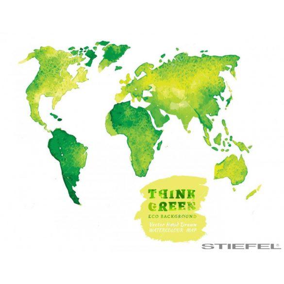 Zöld színű fali világtérképe, falitérkép