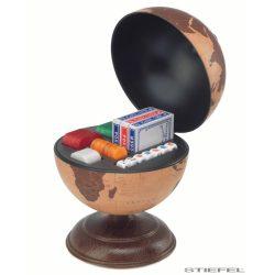Földgömb asztali antik stílus póker szettel Ø 22  cm
