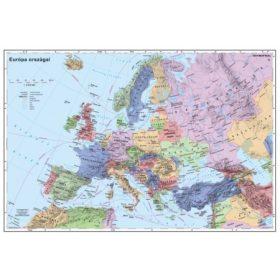 Európa falitérképek