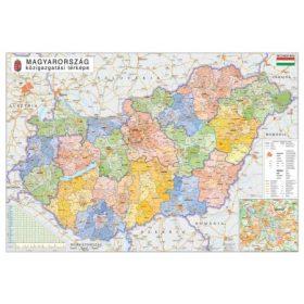 Magyarország falitérképek