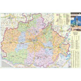 Magyarországi megye falitérképek