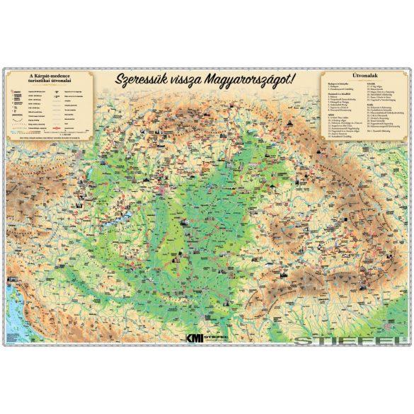 Magyarország egyedi falitérkép
